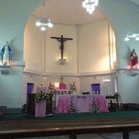 Photo taken at St. Augustine Church of Yangon by Anegga T. on 12/15/2013