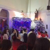 Photo taken at St. Augustine Church of Yangon by Anegga T. on 12/24/2013