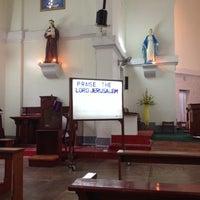 Photo taken at St. Augustine Church of Yangon by Anegga T. on 6/22/2014