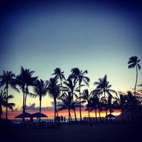Photo taken at Kaimana Beach Park by kelly f. on 7/6/2013