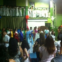 Photo taken at Escola Renascer by Mary A. on 3/28/2013