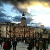 Foto tomada en Puerta del Sol por Lonifasiko.com - Miguel Loitxate el 2/2/2013
