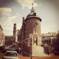 Photo taken at The Harvard Lampoon by Matthew H. on 8/16/2014