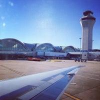 Photo taken at Lambert-St. Louis International Airport (STL) by Matthew H. on 12/21/2012