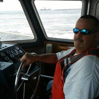 Photo taken at on a boat by Bobby H. on 9/28/2012