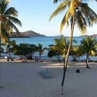 Photo taken at Sapphire Beach Marina & Resort Saint Thomas (Virgin Islands U.S.) by Tarrah on 3/1/2013