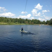 Photo taken at KRK WAKE PARK by Anzhela on 8/10/2013