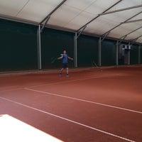 Photo taken at TCM   Tennisclub Merelbeke by Stefanie C. on 6/19/2017