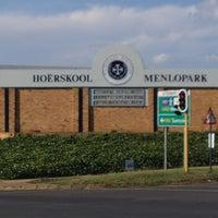 Photo taken at Hoërskool Menlopark by Sak s. on 1/27/2013