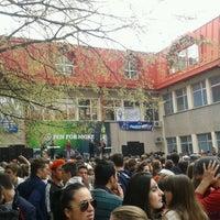 Photo taken at Ekonomski fakultet by Ivan S. on 4/4/2013