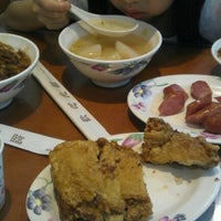 Photo taken at 芳琳魯肉飯 by Apple N. on 10/20/2012