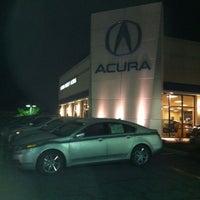 Photo taken at Karen Radley Acura by Dave H. on 12/19/2012