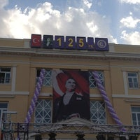6/11/2013 tarihinde Melis D.ziyaretçi tarafından İzmir Atatürk Lisesi'de çekilen fotoğraf