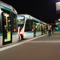 Photo taken at Station Suresnes – Longchamp [T2] by Jannis S. on 9/28/2012
