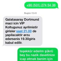 Photo taken at GSK spor klubü by Tahir a. on 10/22/2014