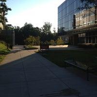 Photo taken at Long and Kimmy Nguyen Engineering Building - George Mason University by Sandra O. on 10/3/2012