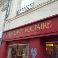 Photo taken at La Cave Voltaire by Antoine M. on 12/8/2012