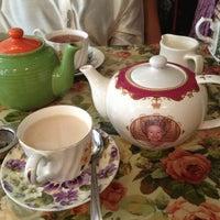 Photo taken at Tea & Sympathy by Sandy J. on 4/8/2013