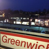 Photo taken at Metro North - Greenwich Station by Sandy J. on 11/27/2012