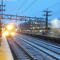 Photo taken at Metro North - Greenwich Station by Sandy J. on 12/26/2012