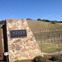 Photo taken at Niner Wine Estates by Kristine S. on 4/6/2013
