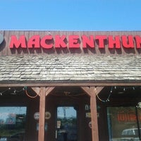 Photo taken at Mackenthuns Meats & Deli Inc by Mike D. on 7/18/2013