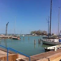 Photo taken at Balatonfüredi Yacht Club (BYC) by Bence B. on 4/25/2013
