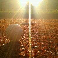 Photo taken at Snail Driving Range by Kuba P. on 9/28/2012