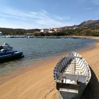 Photo taken at Cala di Volpe by Evgeny D. on 9/5/2017