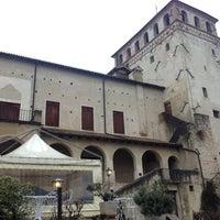 Photo taken at Castello Pretorio by Ariele M. on 1/18/2014