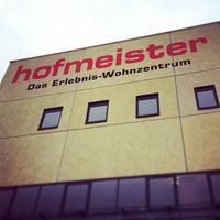 Photo taken at Hofmeister Erlebnis-Wohnzentrum by Ex-Sailor on 1/16/2014
