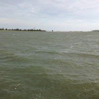 Photo taken at Cedar Island Marina by Jonathan P. on 6/2/2013