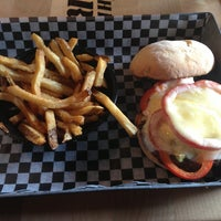 Photo taken at The Works Gourmet Burger Bistro by Sarah on 7/29/2013