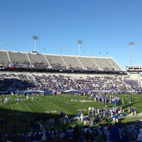 Photo taken at Commonwealth Stadium by Nate H. on 4/13/2013