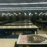 Photo taken at Biblioteca by Viviana E. on 2/26/2013