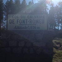 Photo taken at Fount Romeu Altitude Camp Center by YasinAtil on 10/25/2012