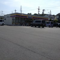Photo taken at Ministop by Jonathan F. on 8/18/2013