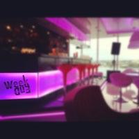 Снимок сделан в Sky lounge (WeekEnd, Небо) пользователем Катя Б. 9/28/2012