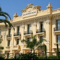 Photo taken at Hôtel Hermitage Monte-Carlo by Irina G. on 3/31/2013