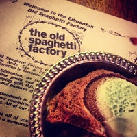 Photo taken at The Old Spaghetti Factory by Romy Y. on 7/11/2013