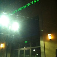 Photo taken at First Financial Credit Union by Joy D. on 9/4/2013