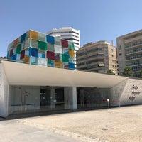 Foto tomada en Centre Pompidou Málaga por Franck C. el 7/30/2017