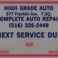 Photo taken at High Grade Auto Repair by High Grade Auto Repair on 5/8/2014