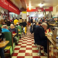 Photo taken at DeLuca's Diner by Andrew H. on 10/7/2012