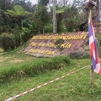 Photo taken at Phu Hin Rong Kla National Park by Rattanakorn S. on 11/15/2017