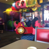 Photo taken at Chuck E. Cheese's by Veronica C. on 4/10/2015