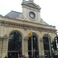 Photo taken at Gare de Namur by Andrés C. on 3/29/2013