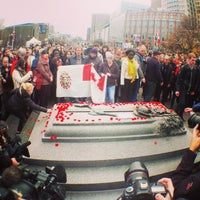 Photo taken at Cenotaph and Tomb of the Unknown Soldier by Michel C. on 11/11/2015