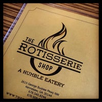 Photo taken at The Rotisserie Shop by Andrea C. on 11/19/2016