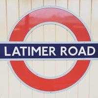Photo taken at Latimer Road London Underground Station by Zana F. on 11/3/2012